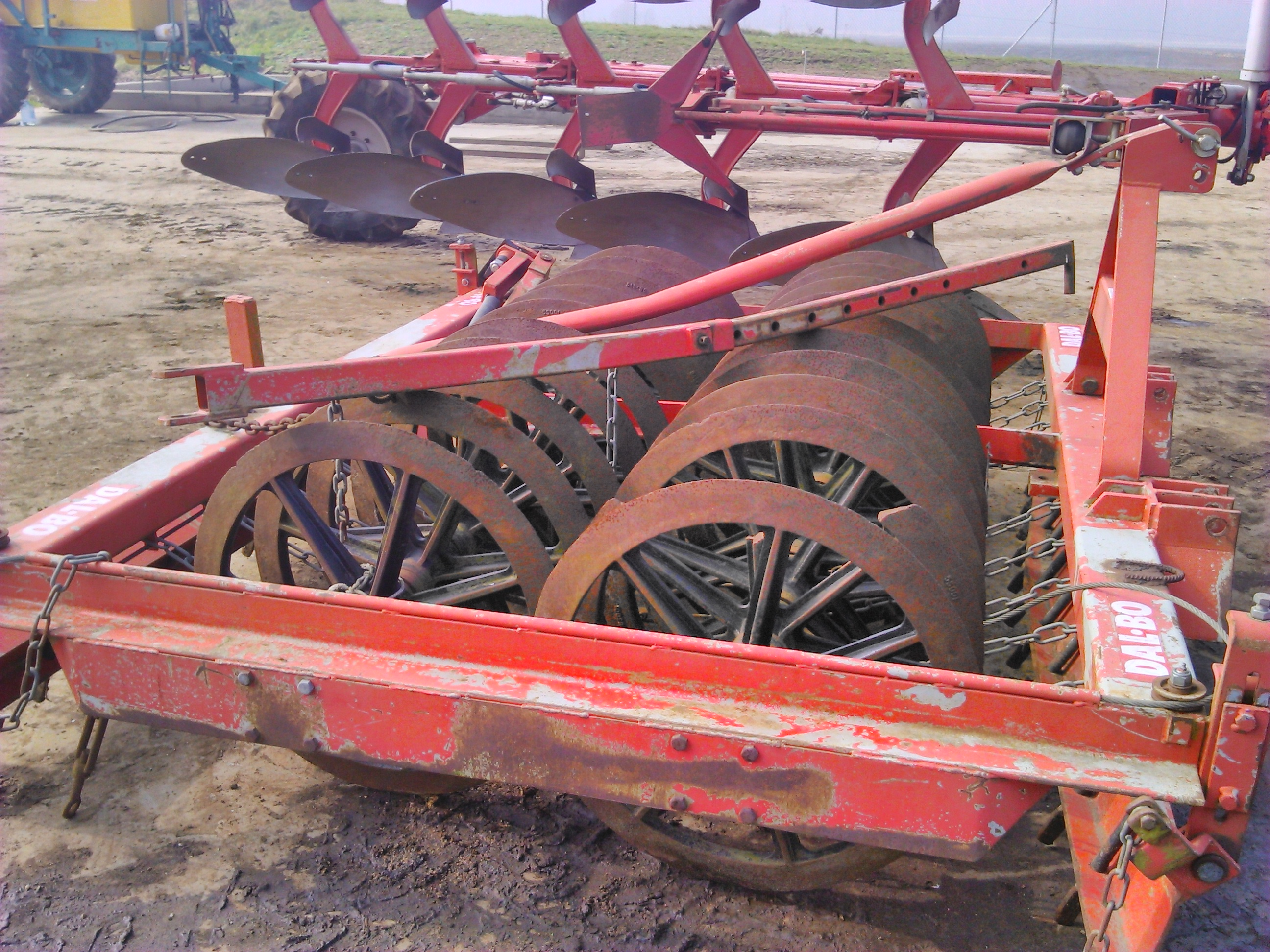 Dalbo plough press