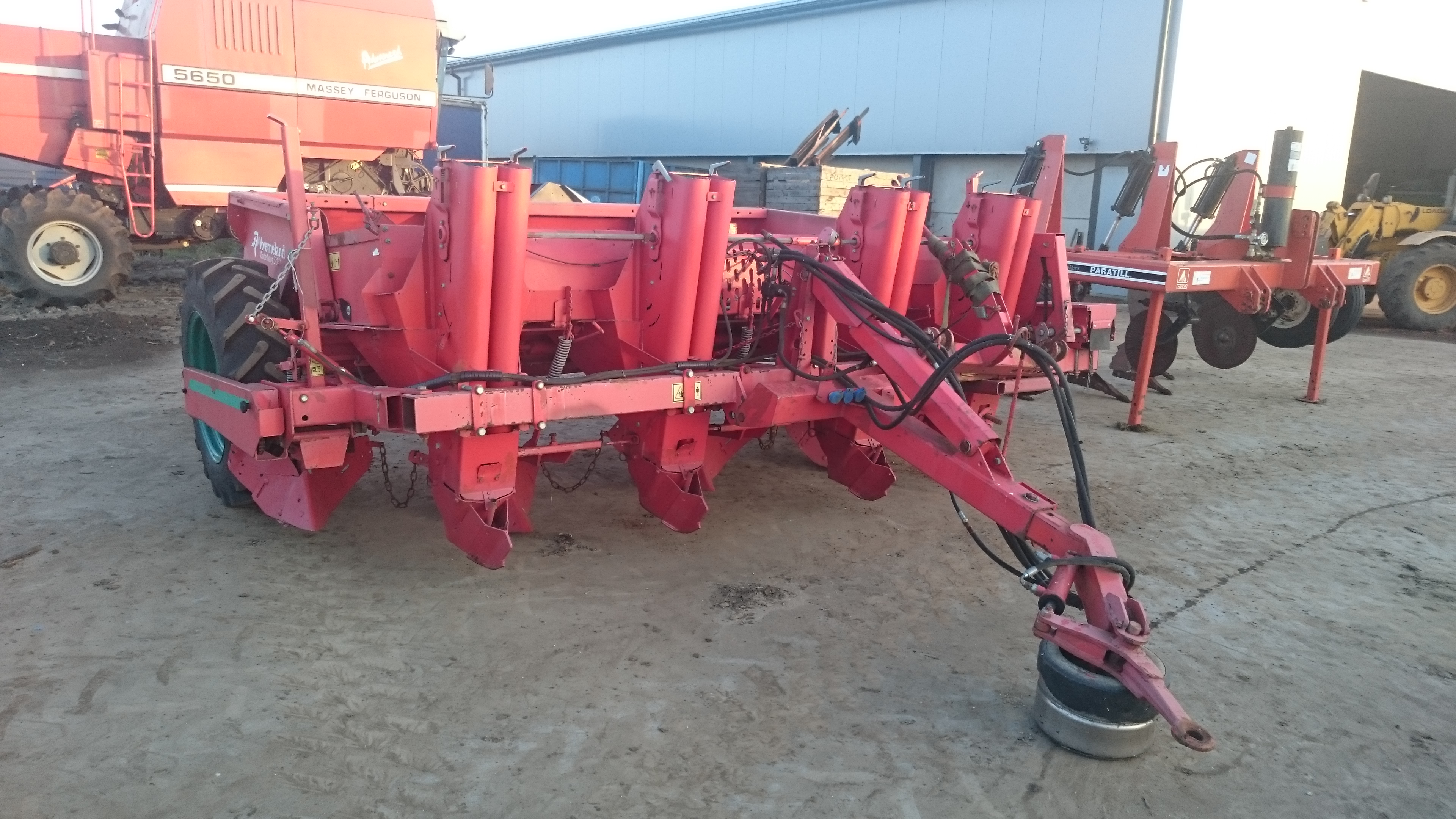 4 row potato planter for sale