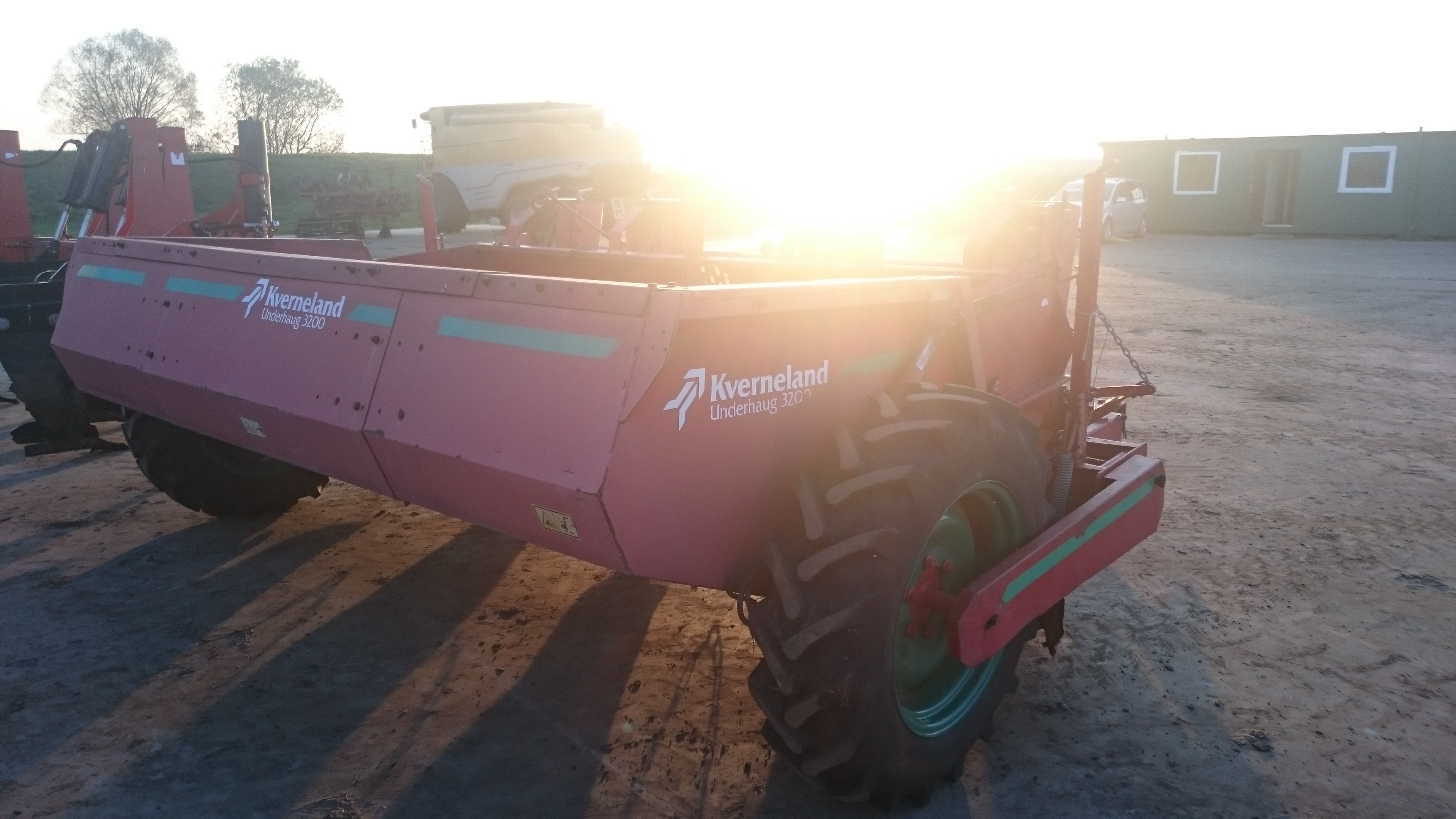 4 row potato planter Kverneland underhaug 3200