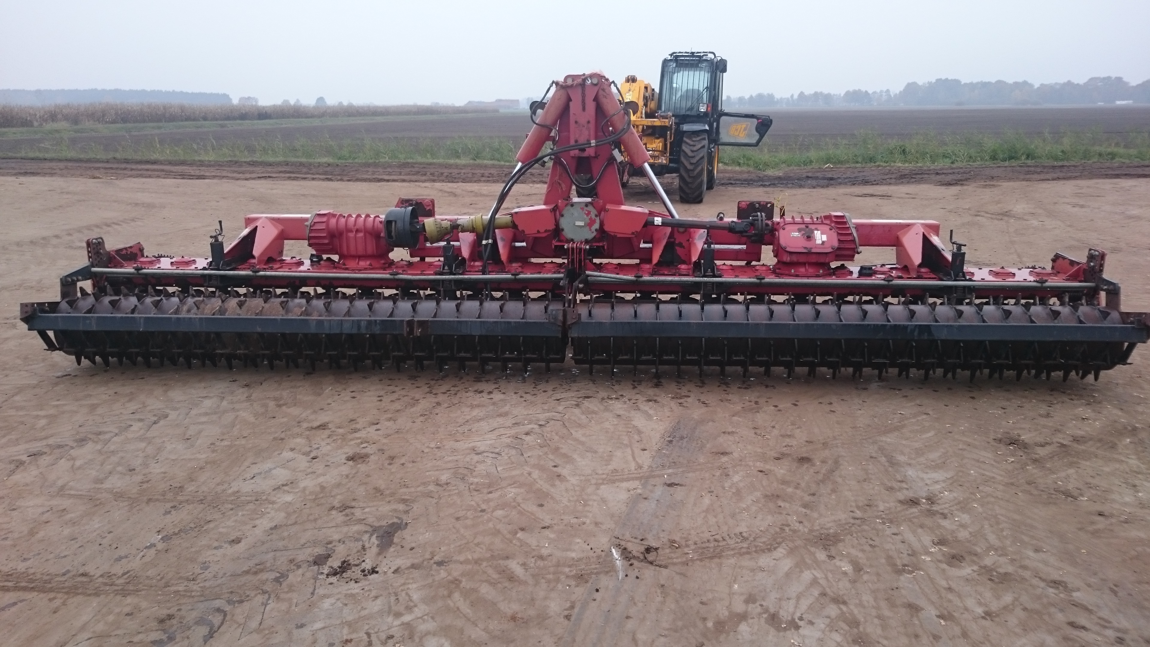 6 metre folding power harrow for sale