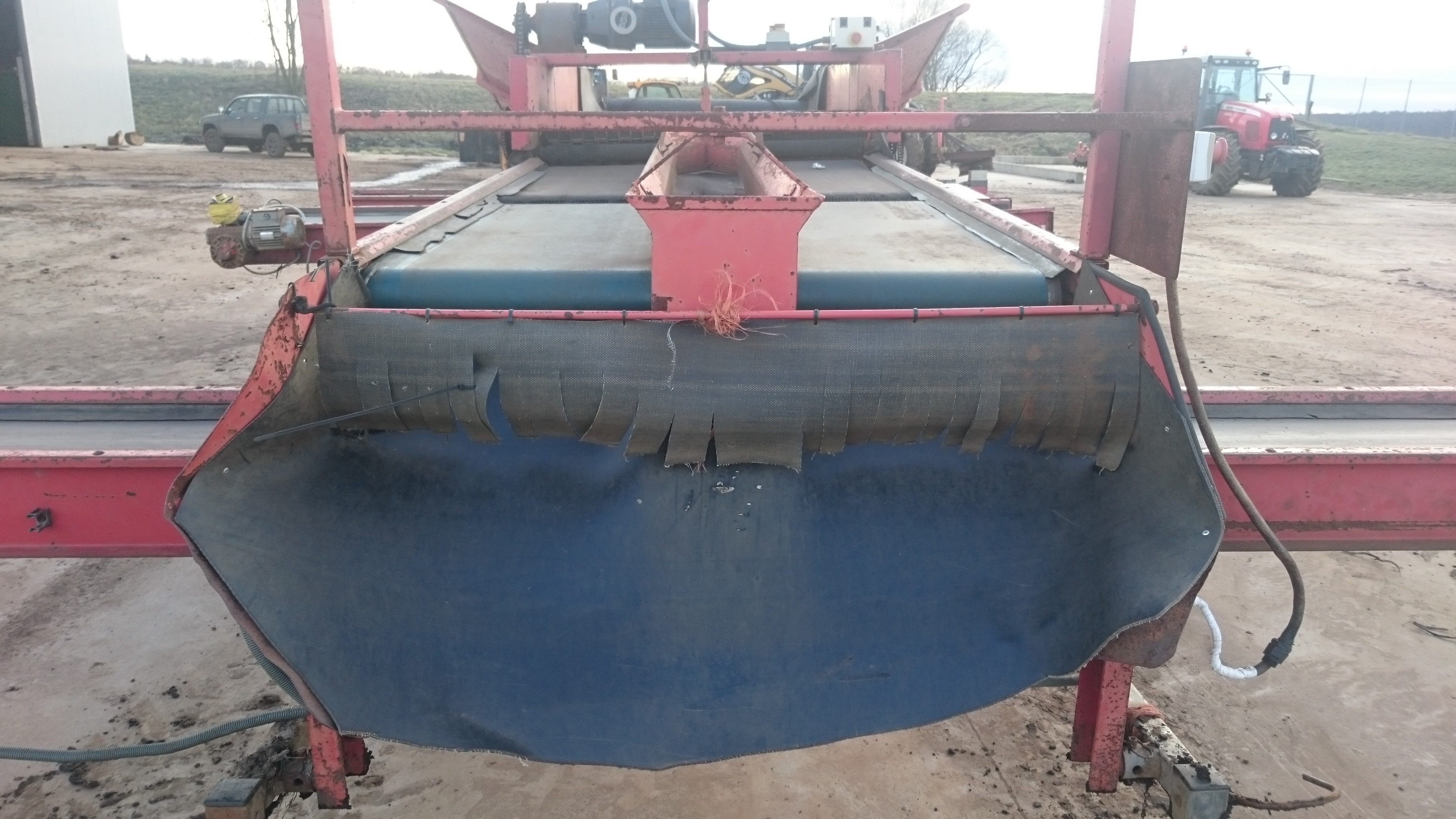 Tong potato grader for sale