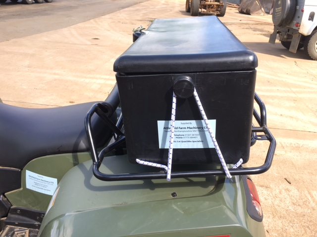 Quad bike large storage box