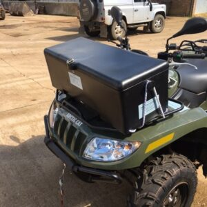 ATV front storage box
