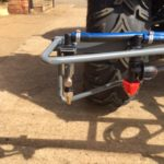 versatile spray boom for UTV