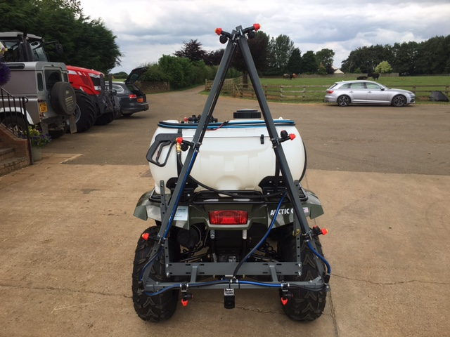 three metre quad bike sprayer boom