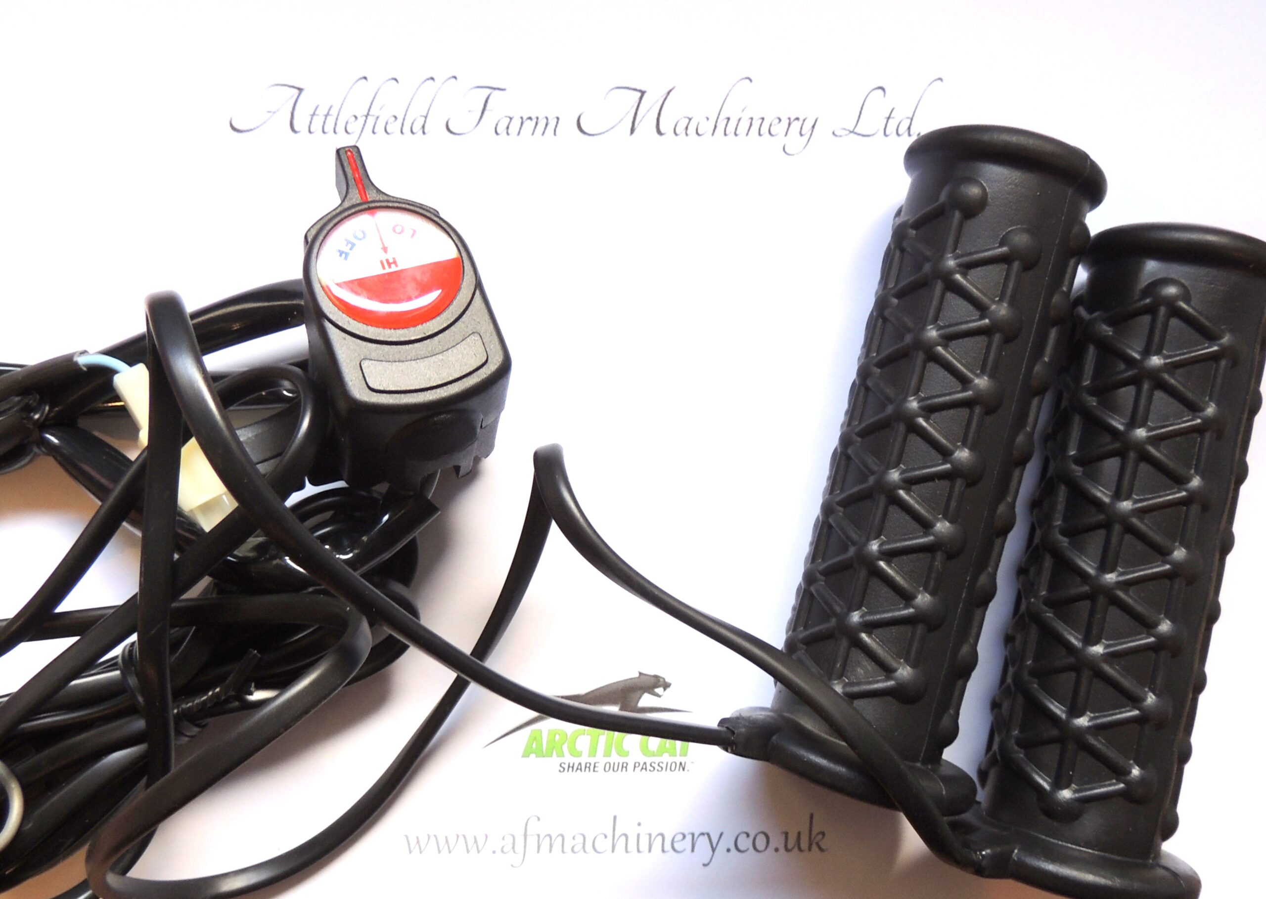 ATV AND QUAD BIKE HEATED GRIPS UNIVERSAL HEATED GRIPS FOR QUADS