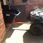 quad bike tipping trailer