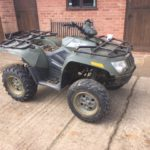 Arctic cat with suzuki 400cc engine breaking for spares