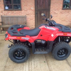 Arctic Cat 450EFI road legal quad bike