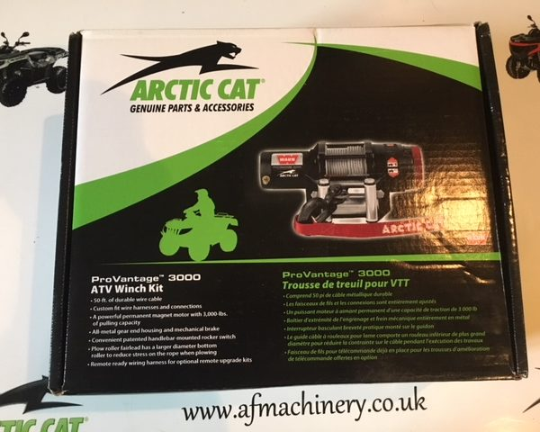 Arctic cat winch Warn pro vantage 3000lb