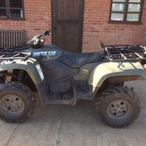Arctic Cat 700cc Diesel road legal