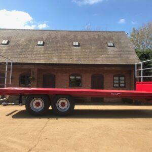 Marshall Flat/bale trailers for sale